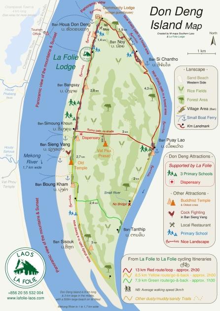 M maps Don Deng Island map