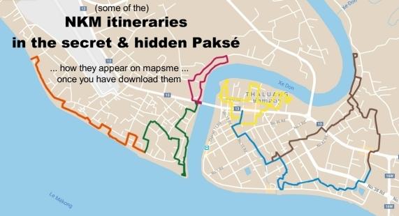 nkm itineraries mapsme
