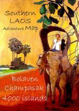 Adventure Map Southern Laos